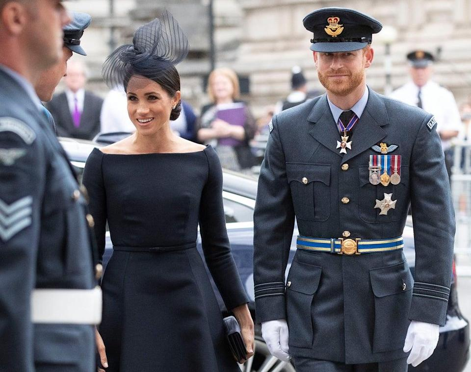 The Duke and Duchess of Sussex moved to California (Steve Parsons/PA) (PA Archive)