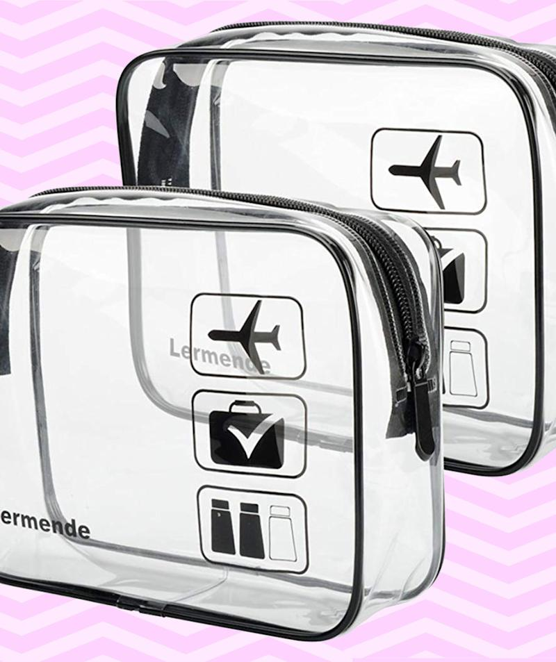 These Clear Toiletry Bags Will Help You Avoid Plastic Waste at the Airport