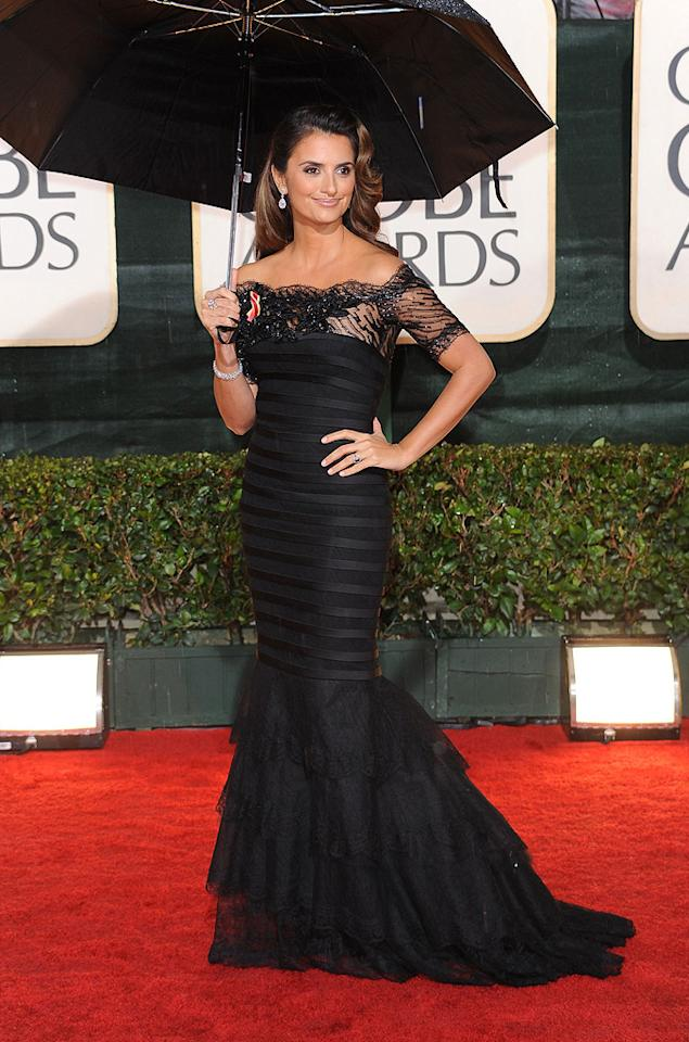 "<a href=""http://movies.yahoo.com/movie/contributor/1800019548"">Penelope Cruz</a> arrives at the 67th Annual Golden Globe Awards held at The Beverly Hilton Hotel on January 17, 2010 in Beverly Hills, California."