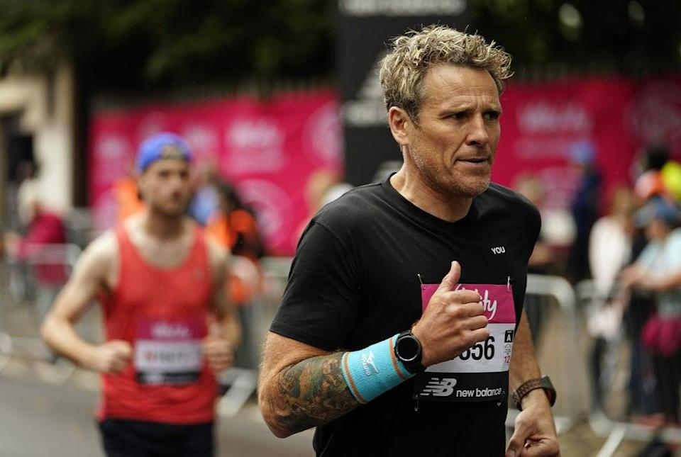 James Cracknell takes part in the Vitality Big Half  (PA Wire)