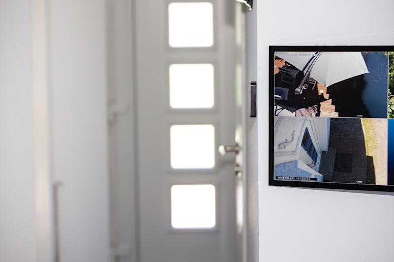 Security surveillance system at home. (PHOTO: Getty Images)