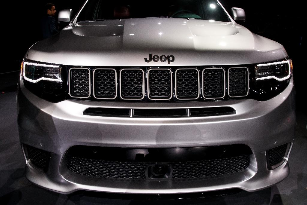 US car industry publication Automotive News has previously reported China's Great Wall intends to buy Fiat Chrysler's Jeep brand (AFP Photo/Drew Angerer)