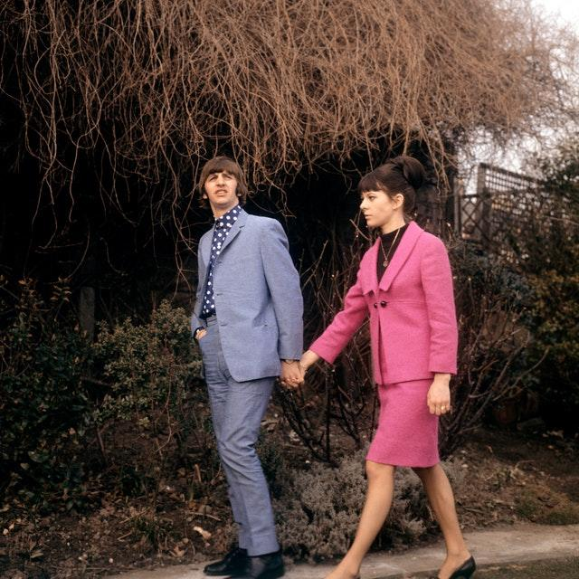 News – Honeymoon Photo Call – Ringo Starr and Maureen Cox – Hove, Sussex