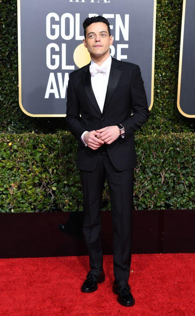 <p>Rami Malek attends the 76th Annual Golden Globe Awards at the Beverly Hilton Hotel in Beverly Hills, Calif., on Jan. 6, 2019. (Photo: Getty Images) </p>