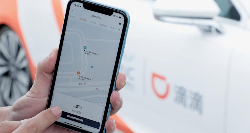 Riders will be able to hail autonomous driving vehicles from DiDi App through a pilot robo-taxi service to be launched in Shanghai