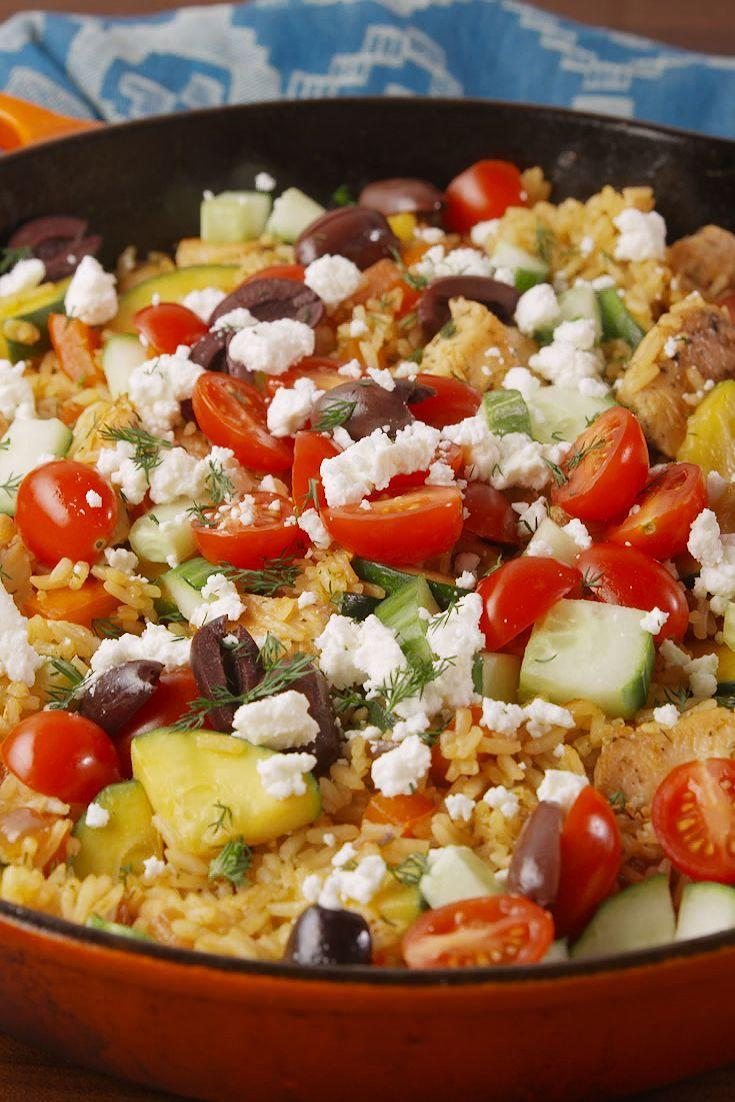 """<p>Everything you love about gyros made in one easy skillet recipe.</p><p>Get the recipe at <a href=""""https://www.delish.com/cooking/recipe-ideas/recipes/a56146/greek-gyro-skillet-recipe/"""" rel=""""nofollow noopener"""" target=""""_blank"""" data-ylk=""""slk:Delish"""" class=""""link rapid-noclick-resp"""">Delish</a>.<strong><br></strong></p>"""