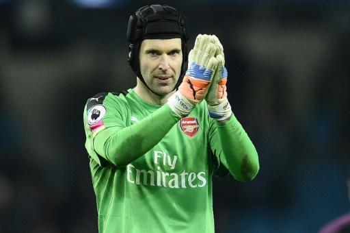 Arsenal's Cech 'angry' after derby defeat