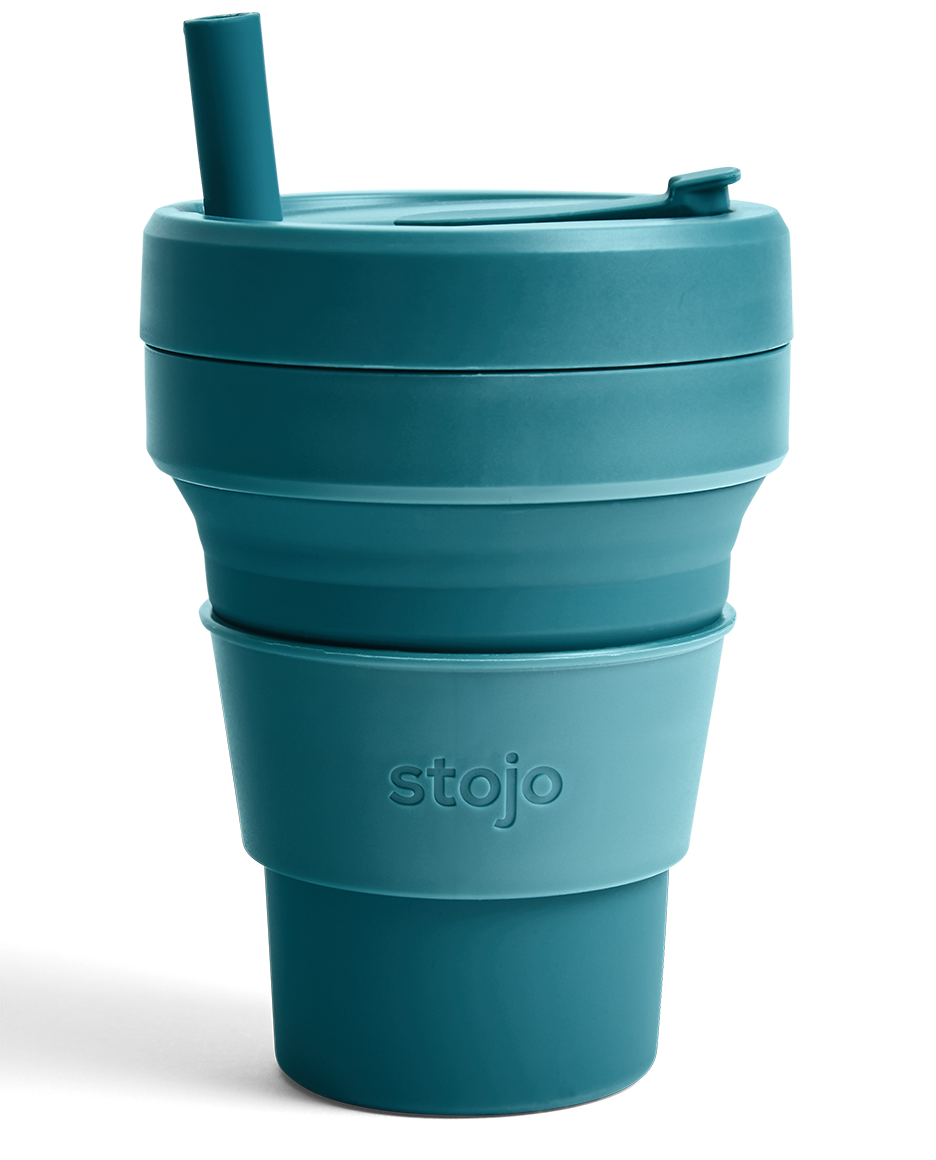 """<h2>Stojos Cup</h2><br><strong>Best For: Compact Travel</strong><br>If you're small on space AND big on sustainability, let us introduce you to Stojos. These BPA-free collapsible travel cups are perfect for drinking on the go and storing in your bag for when you get home. They're also dishwasher safe! <br><br><em>Shop</em> <strong><em><a href=""""http://stojos.com"""" rel=""""nofollow noopener"""" target=""""_blank"""" data-ylk=""""slk:Stojos"""" class=""""link rapid-noclick-resp"""">Stojos</a></em></strong><br><br><strong>Stojo</strong> 16 oz cup, $, available at <a href=""""https://go.skimresources.com/?id=30283X879131&url=https%3A%2F%2Fstojo.co%2Fproducts%2F16-oz-cup"""" rel=""""nofollow noopener"""" target=""""_blank"""" data-ylk=""""slk:Stojo"""" class=""""link rapid-noclick-resp"""">Stojo</a>"""