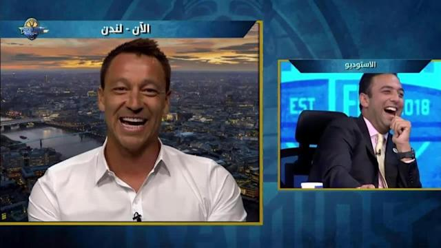John Terry on Pyramids TV (Youtube)