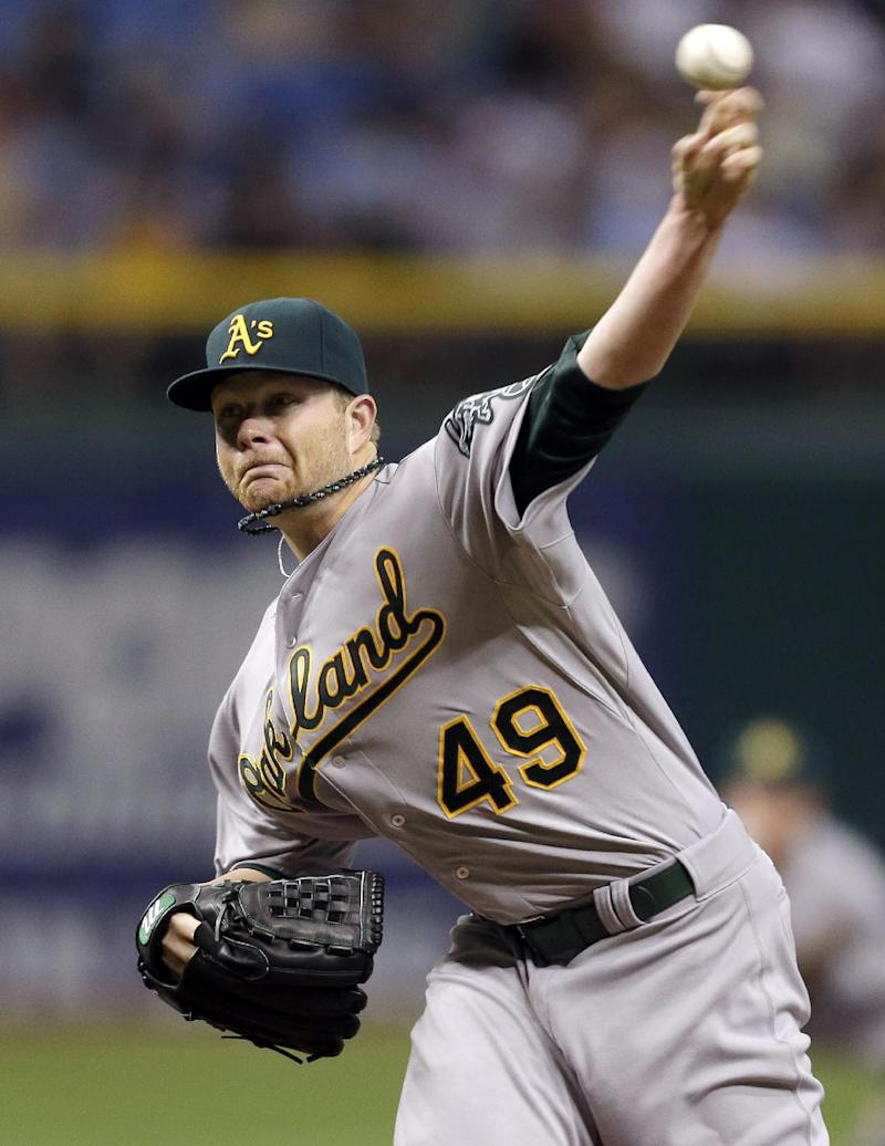 Athletics trade LHP Brett Anderson to Rockies