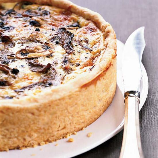 "<p><strong>Ingredient:</strong> Mushroom</p> <p><strong>Recipe:</strong> <a rel=""nofollow"">Over-the-Top Mushroom Quiche</a></p>"