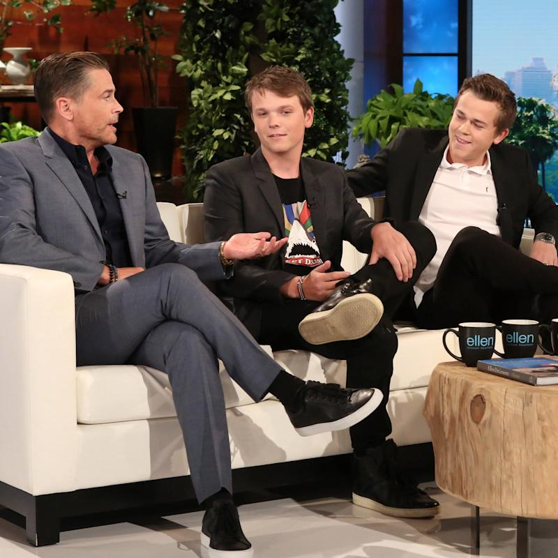 "Rob Lowe's Sons Reveal What They Can't Stand About Their ""Mortifying"" Dad"