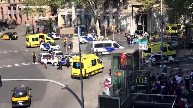 <p>Police in Spain say they have shot and killed several people south of Barcelona while carrying out an operation in response to a terrorist attack. </p>