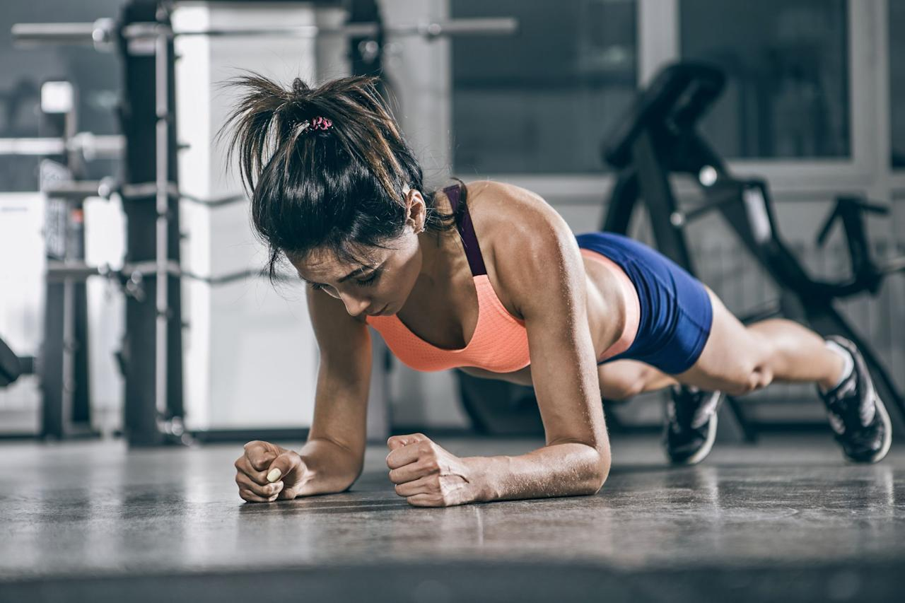 "<p>Prevent common running injuries and build strength by adding bodyweight <a href=""https://www.runnersworld.com/strength-training/"" target=""_blank"">exercises</a> to your weekly workout routine—no fancy equipment or expensive gym membership required. Here are some of the best bodyweight exercises you can do to strengthen your stride and maintain better posture through each run.  These bodyweight moves will help you <a href=""https://www.runnersworld.com/training/g20840708/5-exercises-to-strengthen-your-lower-legs/"" target=""_blank"">target your legs</a>, <a href=""https://www.runnersworld.com/training/a27224568/abs-workout-10-minute-circuit/"" target=""_blank"">core</a>, and even your <a href=""https://www.runnersworld.com/training/a25104852/best-arm-workout-for-runners/"" target=""_blank"">upper body</a>. The best part: With summer fast approaching, you can bust out these moves outside after a long run.</p><p><strong>How to use this list</strong>: Try incorporating five or more of the exercises below into your workout at least three times a week. Do 10 to 15 reps of each exercise for three or more sets. The list is ordered according to body part: lower body, core, and upper body. You can opt for five exercises per muscle group (for example: one week might include a leg-day workout, <a href=""https://www.runnersworld.com/training/g23303464/ab-workouts-at-home/"" target=""_blank"">a core-focused routine</a>, and an upper body session) or opt for a mix of moves to target your entire body. </p>"