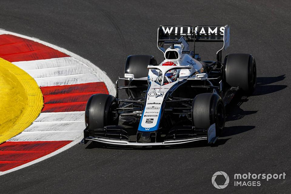 """George Russell, Williams FW43<span class=""""copyright"""">Sam Bloxham / Motorsport Images</span>"""