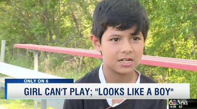 Mili Hernandez was disqualified from her soccer tournament because of confusion about her gender. (Photo: WOWT News)