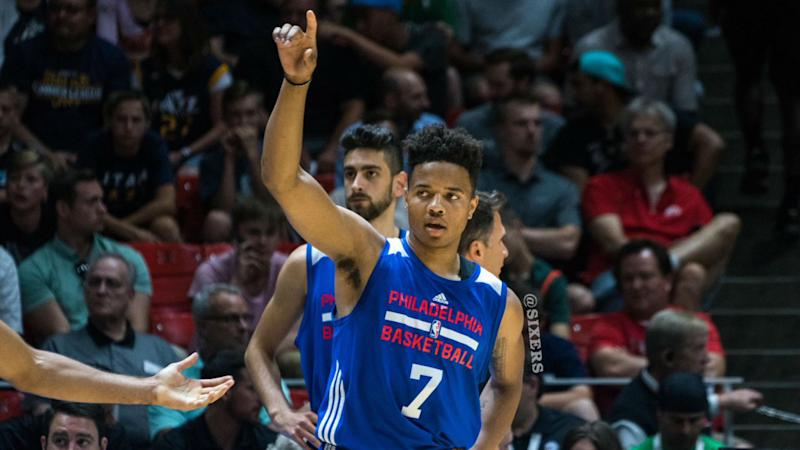 Sixers' Markelle Fultz becomes first teen to record NBA triple-double