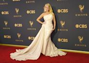 <p>Sandra Lee attends the 69th Primetime Emmy Awards at the Microsoft Theater on Sept. 17, 2017, in Los Angeles. (Photo: Getty Images) </p>