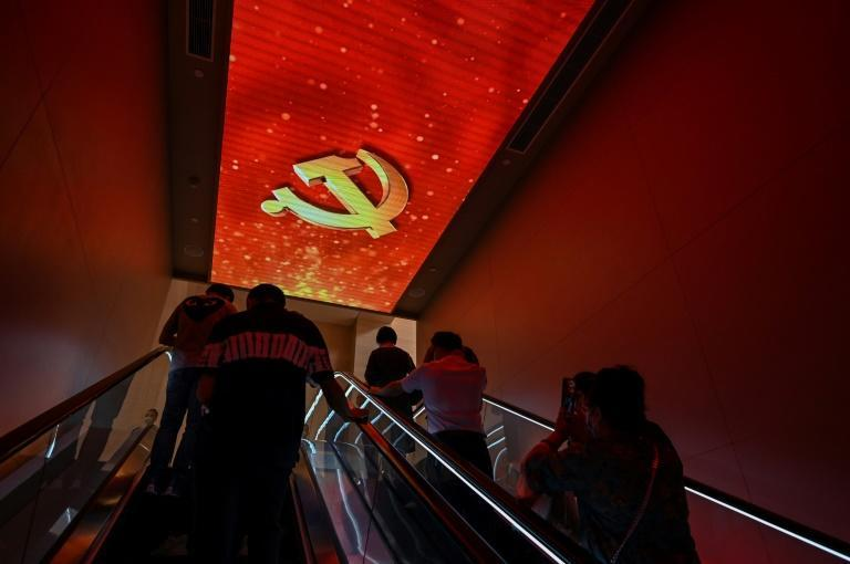 China's recent successes are being trumpeted nationwide by the Party and its members in a pre-anniversary propaganda blitz