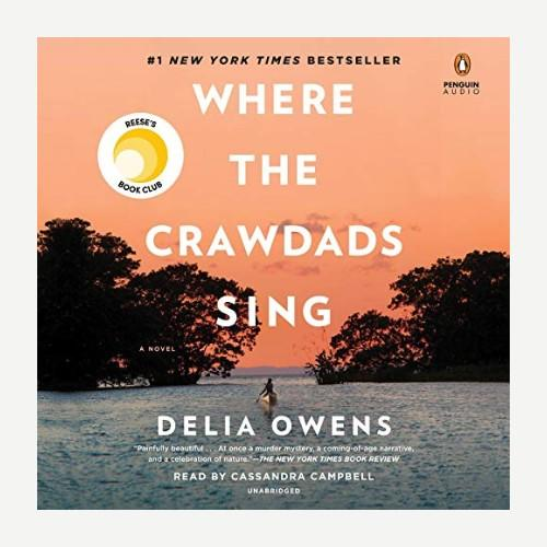 Where the Crawdads Sing by Delia Owens. (Photo: Audible)