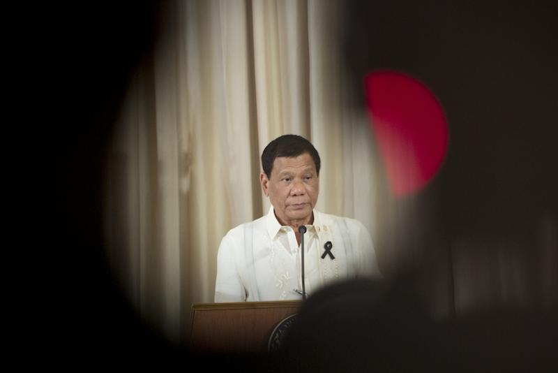 Duterte Calls China a Friend Amid South China Sea Tensions