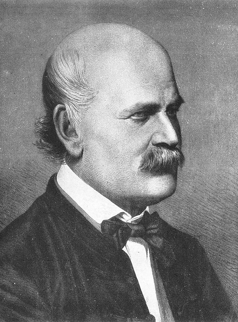 Dr Ignaz Semmelweis was the first to suggest that doctors wash their hands to prevent spread of diseases