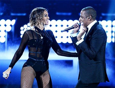 "Beyonce and Jay Z's Sexy ""Drunk in Love"" Grammys Opener -- Stars React!"