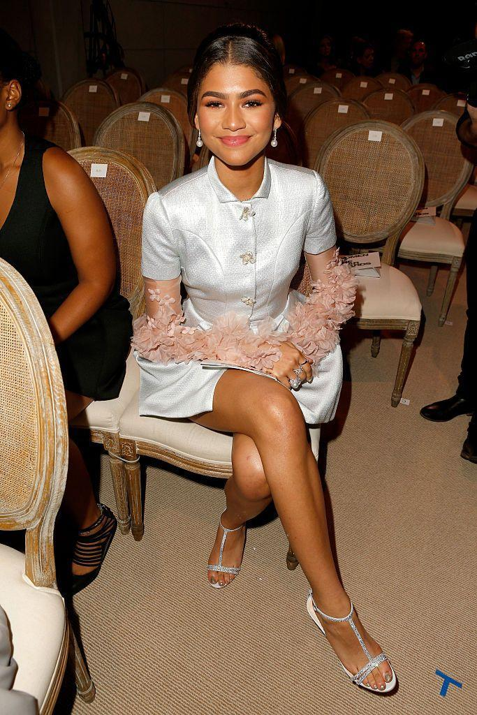 <p>Zendaya provided a chic way to shift those summer cocktail dresses to the next season with floral adornments at the<em> Glamour</em> Women Of The Year event in Hollywood.</p>