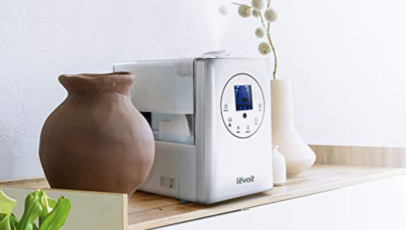 Create a cozy environment with a quality humidifier. (Photo: Amazon)