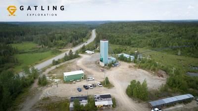 Figure 1. Aerial view of Gatling Exploration's Larder Gold Project (CNW Group/Gatling Exploration Inc.)