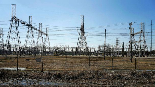 PHOTO: An electrical substation is seen after winter weather caused electricity blackouts in Houston, Feb. 20, 2021. (Go Nakamura/Reuters)