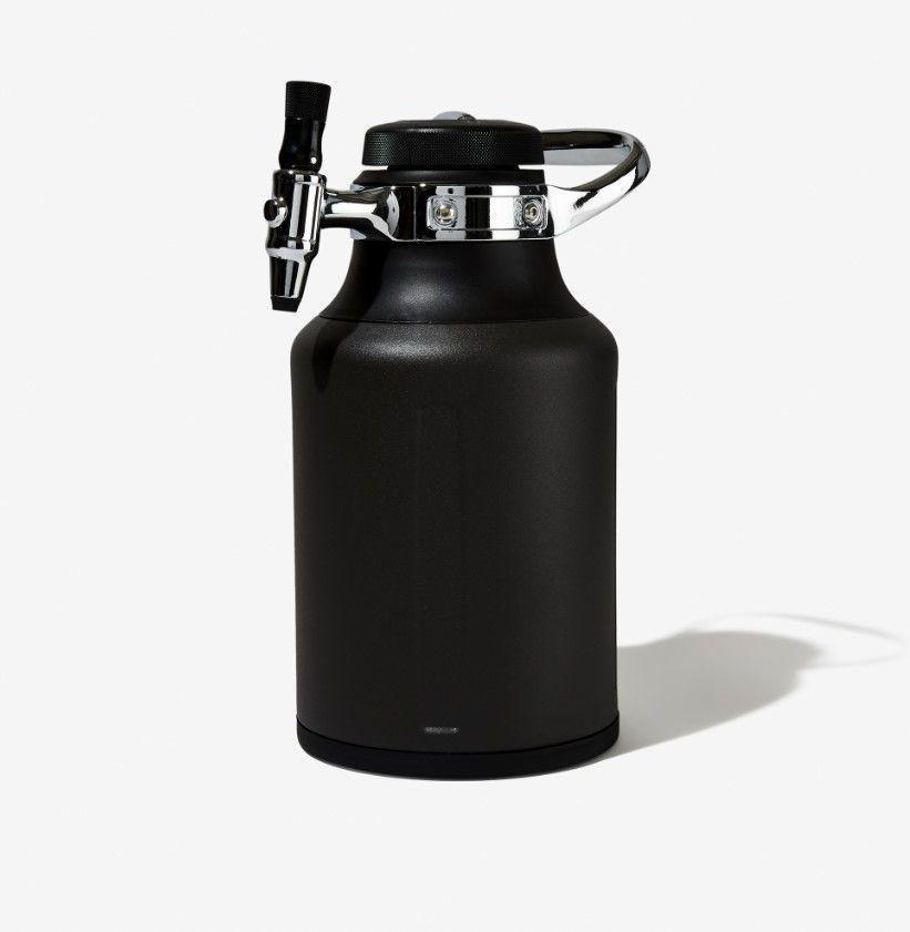 """<p><strong>GrowlerWerks</strong></p><p>bespokepost.com</p><p><strong>$99.00</strong></p><p><a href=""""https://go.redirectingat.com?id=74968X1596630&url=https%3A%2F%2Fwww.bespokepost.com%2Fstore%2Fgrowlerwerks-ukeg-go-tungsten&sref=https%3A%2F%2Fwww.esquire.com%2Flifestyle%2Fg19621074%2Fcool-fathers-day-gifts-ideas%2F"""" rel=""""nofollow noopener"""" target=""""_blank"""" data-ylk=""""slk:Buy"""" class=""""link rapid-noclick-resp"""">Buy</a></p><p>Should he want to take ice-cold, freshly carbonated beer with him to a picnic, campsite, or even just the backyard, this is the way to do it. </p>"""