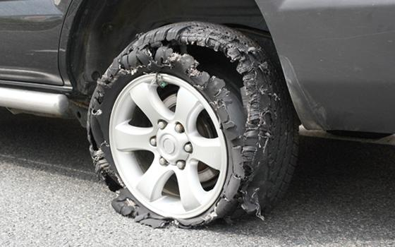blown out tires could be prevented through tire pressure monitoring