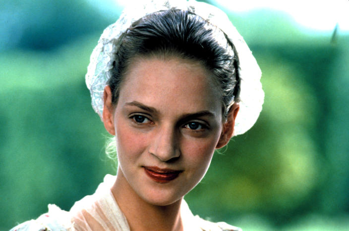 Uma Thurman had a breakout role in the 1988 hit, 'Dangerous Liaisons,' before auditioning for 'The Bonfire of the Vanities' (Photo: Warner Brothers/courtesy Everett Collection)