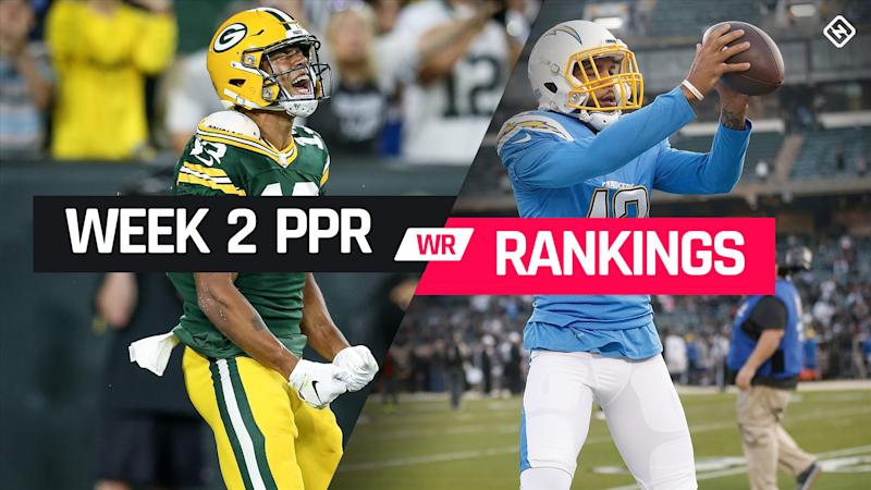 Week 2 Fantasy WR PPR Rankings: Must-starts, sleepers, potential busts