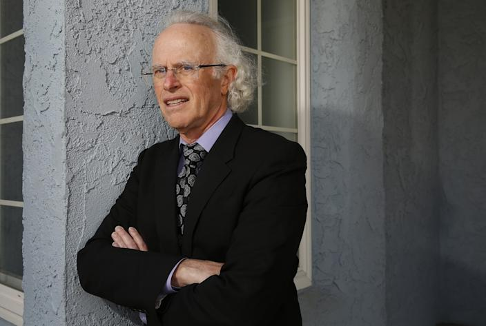 "Dr. Michael R. Wasserman, medical director of the Eisenberg Village nursing home in Reseda and president of the California Assn. of Long Term Care Medicine, is in favor of testing inspectors. <span class=""copyright"">(Al Seib/Los Angeles Times)</span>"