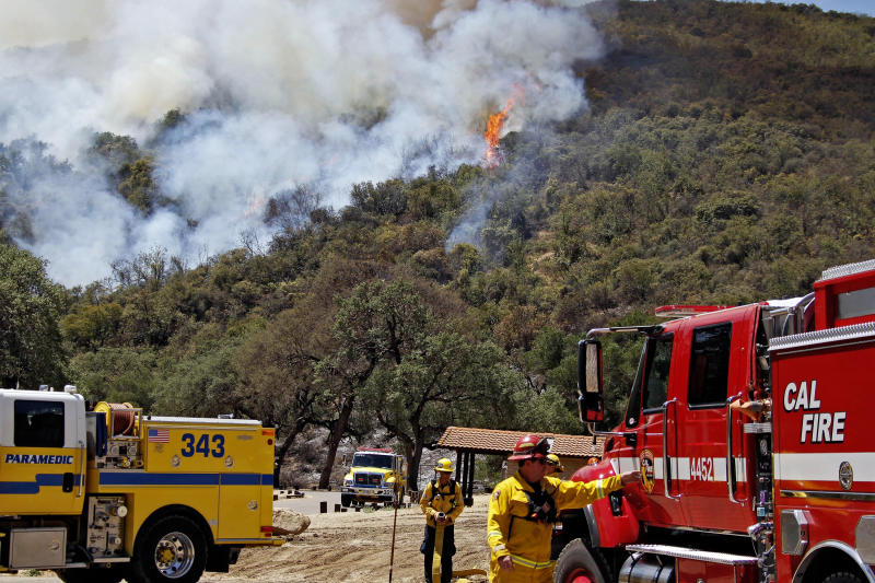 Firefighters gaining ground on California blazes