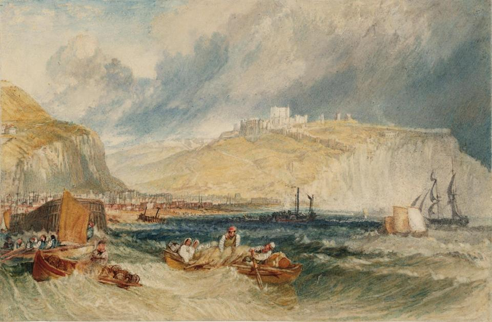 Turner's painting at Dover