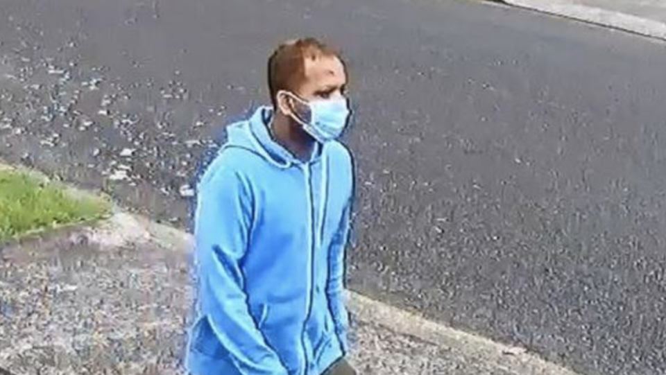 Police have identified a person of interest (pictured). Source: New Zealand Police