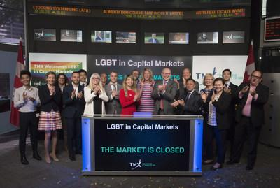 LGBT in Capital Markets Closes the Market (CNW Group/TMX Group Limited)
