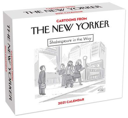 2021 Cartoons from The New Yorker Day-to-Day Calendar