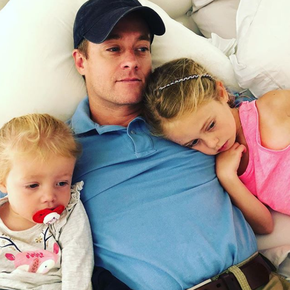 Grant admits he felt like the 'worst parent in the world' after receiving the letter. Photo: Instagram/grantdenyer