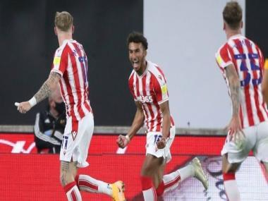 League Cup: Jacob Brown's late goal helps Stoke City beat Wolves; Burnley overcome Sheffield United on penalties