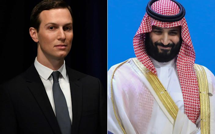 Jared Kushner and Mohammed bin Salman communicated by Whatsapp - AFP