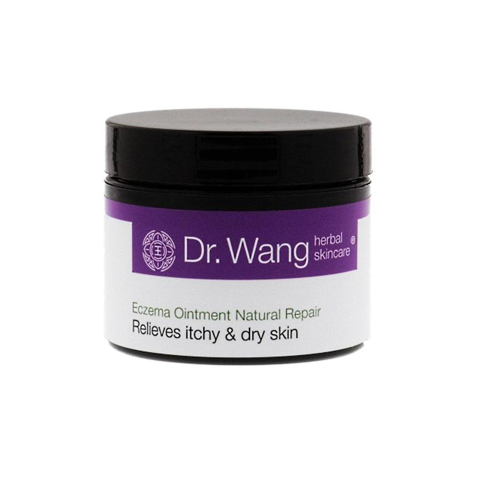 """<p>Developed by a father-son duo, Dr. Wang's Herbal Rescue Balm is unique in that it marries the ideologies of Western medicine and herbalism. Steven Wang, who is the director of dermatologic surgery and dermatology at Memorial Sloan Kettering Cancer Center in Basking Ridge, New Jersey, created the calming elixir with his father, who is a licensed acupuncturist and herbalist. Together, their combined knowledge of the epidermis and came up with this emollient blend of beeswax, meadowfoam, castor oil, and other nourishing ingredients that work to relieve itch, as well as other symptoms associated with eczema.</p> <p><strong>$30</strong> (<a href=""""https://shop-links.co/1638882370549908817"""" rel=""""nofollow noopener"""" target=""""_blank"""" data-ylk=""""slk:Shop Now"""" class=""""link rapid-noclick-resp"""">Shop Now</a>)</p>"""