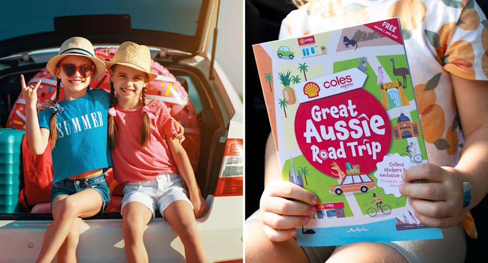 The Coles Great Aussie Road Trip book