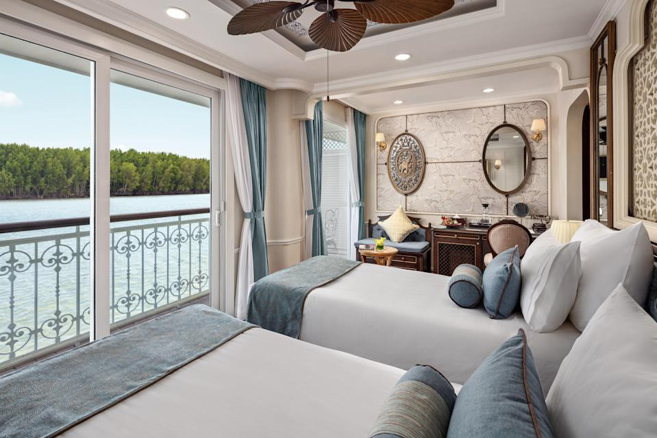 Uniworld's boutique river cruises offer specialized programming.