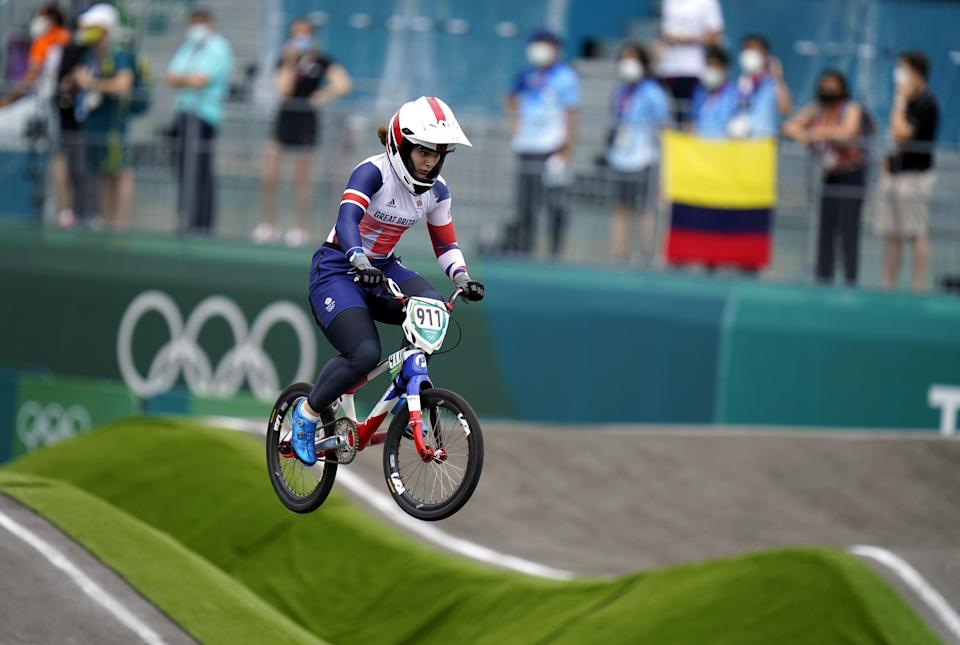 Beth Shriever has won BMX gold for Britain at the Tokyo Olympics (Danny Lawson/PA) (PA Wire)