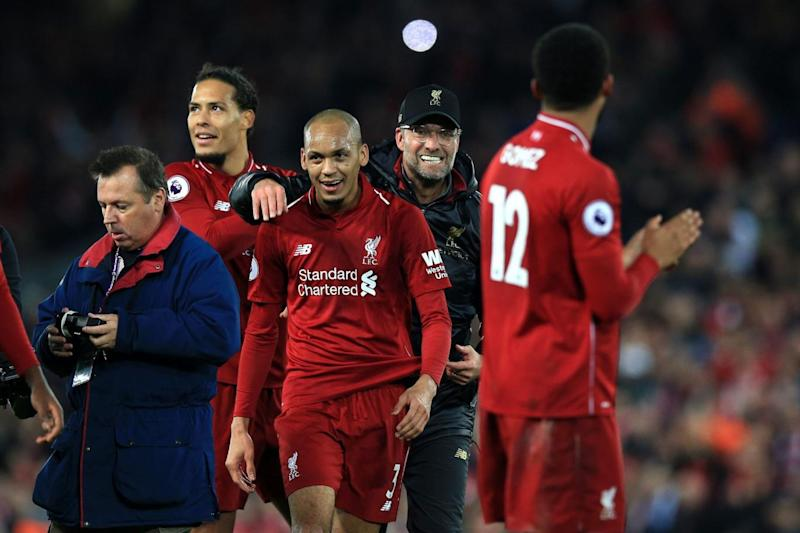 Fabinho produced arguably his best performance in a Liverpool shirt in Sunday's Merseyside derby