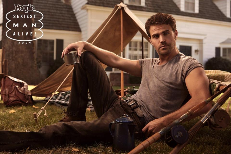 Vampire Diaries ' Paul Wesley on Camping and 'Becoming a Man of the Land' in Quarantine